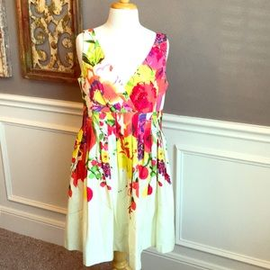 Eliza J | Fit & Flare Floral Dress | Size 10